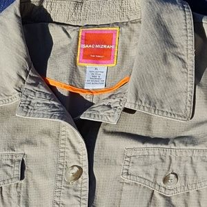 Isaac Mizrahi Jackets & Coats - Price Drop! Isaac Mizrahi Tan / Khaki Field Jacket